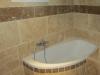 baignoire d'angle avec dalles 40*60et 20*60