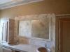 Douche italienne et meuble sous vasques