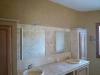 Meuble sous vasque et miroir encastré