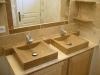 Meuble de vasques et vasques a poser