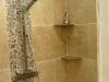 Douche italienne marbre et galets
