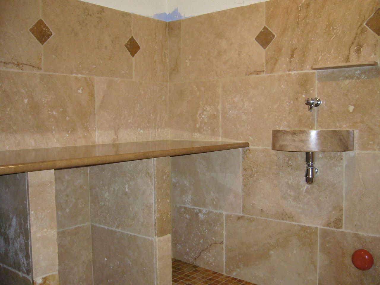 Pierre Naturelle Salle De Bain salle de bains en pierres naturelles | azur agencement
