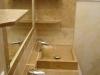 Meuble de vasques et miroir encastré